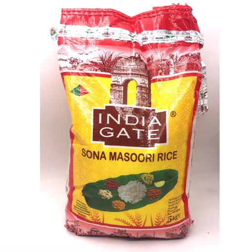 Bild von India Gate Sona Masoori Rice 5kg