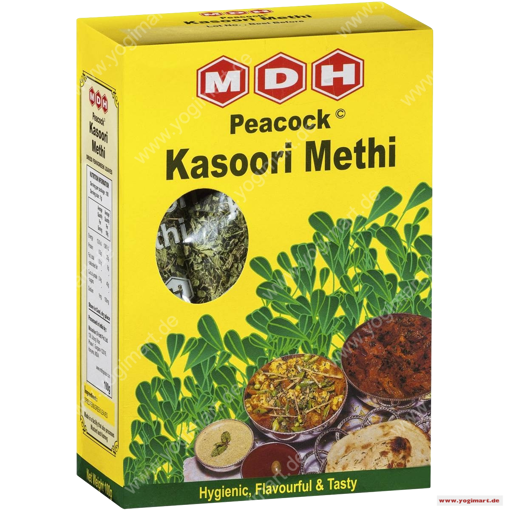 Bild von MDH Peacock Kasoori Methi Leaves 100G